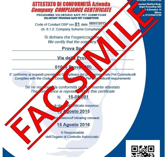 certificazioni prodotti cosmetici animali normative